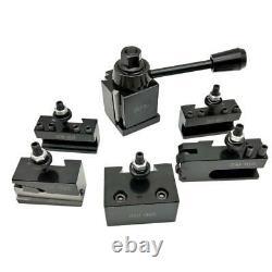 1 Piece Mini Post Holder Steel Quick Change Tool Small Lathe Accessories Kit