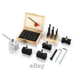 19pc Quick Change Tool Post Mini Set Holder Holder Turning Boring Bar CNC Lathe