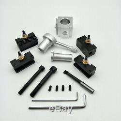19pcs Quick Change Tool Holder Set Post Mini Bar Turning Holder Lathe Boring CNC