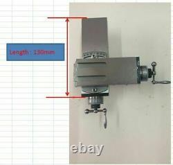 1Set 130mm Length New Structure Tool Post Slide Rest for 8mm Watchmaker Lathe