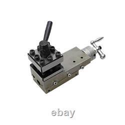 2 Ways Mini Lathe Tool Post Vice Clamp 50x50mm Quick Change