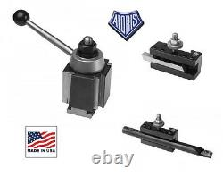 3pc Aloris CXA Intro Pro Tool Post Lathe Swing 13 to 18 #3-IP