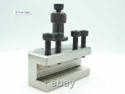 3pc Quick Change Toolpost to Suit Myford ML7 Lathe (Ref 390001) From Chronos