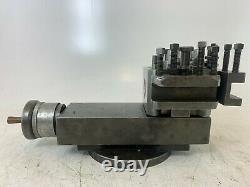 4 1/2 /120mm Lathe 3 Way Sliding Toolpost Holder Dickson T2T Quick Change