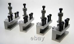 4 Quick Change Toolpost Holders Compatible With Myford Lathe