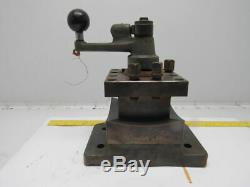 4 Way Indexing Turret Lathe Tool Post Holder Direct Mount See Info