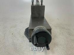 5 /130mm Lathe Top Slide Toolpost Turning Tool with micro adjuster single