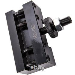5x Quick Change Turning & Facing Lathe Tool Post Holder 250-201