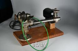 6.5mm Boley Lathe With Tailstock, Steady reset / Tool post and collets