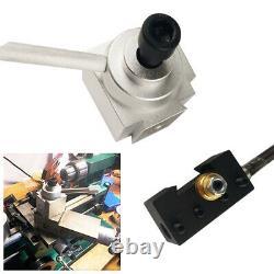 7pcs Mini Lathe Quick Change Tool Post & Holders Multifid Tool Holder Aluminum