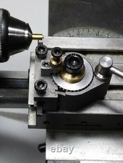 ALL NEW 8mm watchmaker lathe Quick Change Tool Post QCTP type II