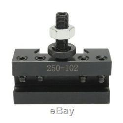 AXA Piston Quick Change Tool Post 250-100 plus 2 holder 101 102 for 6- 12 Lathe