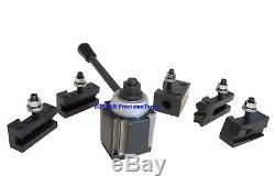 AXA Wedge ToolPost ToolHolder Set 250-111 F. Lathe 6 12