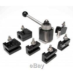 Aloris 7 Pc. Axa Quick Change Lathe Tool Set Tool Post & Holders Cnc USA