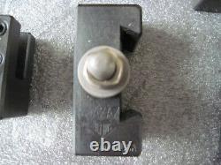 Aloris AXA Quick Change Lathe Tool Set #1 Tool Post & Holders Wedge Type 7 piece