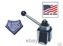 Aloris AXA Super Precision Wedge Tool Post Lathe Swing 12 MADE USA