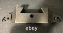 Aloris CXA-16 Lathe Tool Post Holder Right/Left Turning Carbide Machinist Used