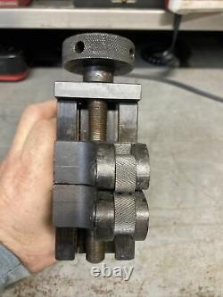 Aloris CXA 19 Quick Change Adjustable Knurling Metal Lathe Tool Post Holder