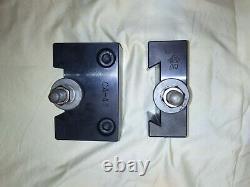 Aloris Lathe Swing Wedge Type Quick Change Tool Post + Holder Set(No Handle)SC3