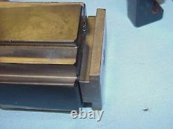 Atlas Craftsman Lathe Aloris BXA Wedge Type Quick Change Tool Post South Bend