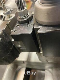 Atlas Craftsman Lathe Tool Post / Aloris Mount+ Commercial 24,000rpm Grinder