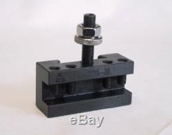 BOSTAR AXA 250-111 Wedge Type Tool Post for Lathe 6 12 with 8PC Tool Holders