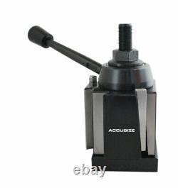 BXA Wedge Type Quick Change Tool Post for Lathe Swing 10-15, #0250-0222