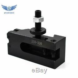 CXA Size 250-333 Set Wedge Tool Post +2 Extra Tool Holders for Lathe 13-18 New