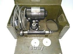 Clean, Dumore Tool Post Grinder With Case For 9 or 10 Lathe