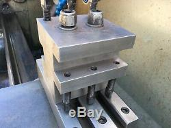 Colchester Mascot lathe Rear tool post