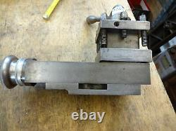 Colchester Student lathe top slide complete 4 way tool post