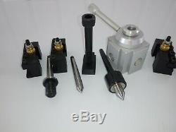 Craftsman 109 Lathe Quick Change Tool Post and Tooling Package NEW