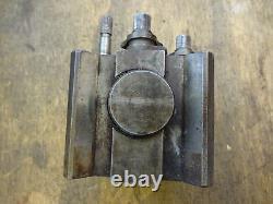 Dickson lathe toolpost block 2.888 x 2 1/2 x 3/4 bore