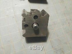 Dicksons Quick Set Lathe Quick Change Tool Post and 2 Holders S. 00