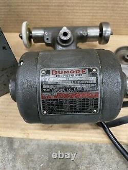 Dumore 44-011 Metal Lathe Toolpost Grinder 1/4hp 115volt Atlas Craftsman