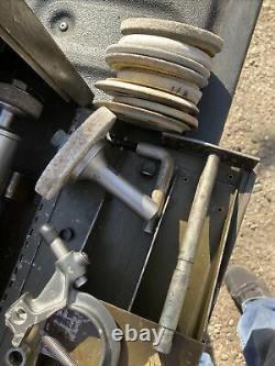 Dumore #5 The Master 1/2hp 115V Metal Lathe Tool Post Grinder Southbend Logan Et