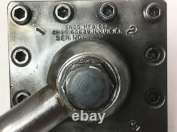 ENCO 2 1/2 sq. 4 Position Turret Tool Holder Post South Bend Atlas Logan Lathe