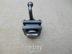 ENCO Model 2 1/2 square Metal Lathe 4 Way Turret Tool Post