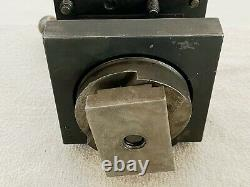 Enco 4-1/2 Square 4 Way Indexing Lathe Turret Tool Post Holder 10D2 USA