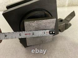 Enco 4-1/2 Square 4 Way Indexing Tool Post Holder USA larger South Bend lathe