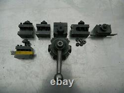 Enco Machinist Lathe Quick Change Tool Post Setup from south bend heavy 10