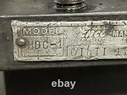Enco model HDC-1 Indexing 4-way Tool Post Holder USA larger South Bend lathe