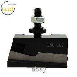 For Lathe 6- 12 AXA Size 250-100 Set Piston Type Quick Change Tool Post Set New