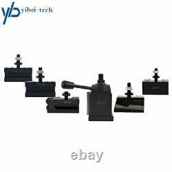 For Lathe 6- 12 AXA Size 250-111 Set Wedge Type Quick Change Tool Post Set