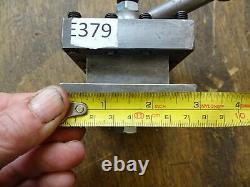 Harrison lathe M250 4 way tool post