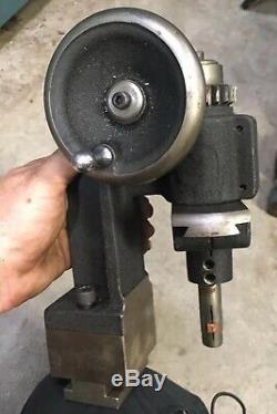 JE Freyman Metal Lathe Concave Convex Radius Cutter Radii Tool Post 9-14 Lathes