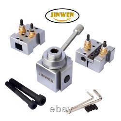 Jinwen 120018 Tooling Package Mini Lathe Quick Change Tool Post & Holders