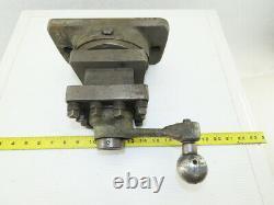 Lathe 4 Position Quick Change Manual Tool Post Holder 5x5 Turret 1-1/2 Bar