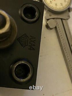 Lathe Tool Post Holder #axa4 Boring Bar Aloris Used Excellent Condition