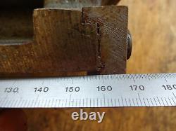 Lathe rear tool post holder + tool